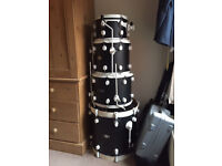 DW PDP 805 Full Drum Kit w/ Cymbals Stands Pedal Throne