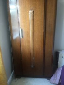 Art Deco style wardrobe for sale