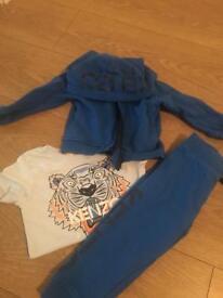 Kenzo Tracksuit And tshirt