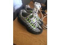 Boys size 6 used airmax trainers