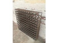 121 bottle vintage wine rack