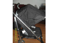 HAUCK BUGGY WITH RAIN COVER,