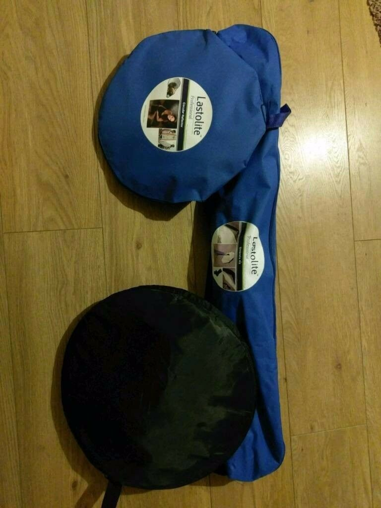 Lastolite umbrella kit with reflectors