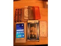 Samsung galaxy s6 32GB unlocked to any network with box and cases