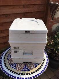 Porto potti portable toilet