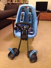 Front-mounted bike seat, Yepp Mini, unused