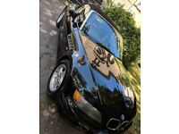 Black BMW Z3 convertible