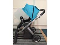 Oyster pram pushchair with extras