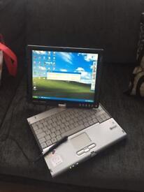 Fujitsu's Laptop / Tablet. Touch sceeen