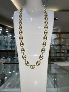 Brand New 10k Yellow Gold Gucci Chain 28 inch 12mm 29.3 gr