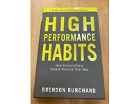High Performance Habits Book AND 2 Planners