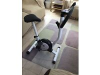 Acelectronic exercise bike with user manual
