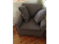Ikea armchair and cushion