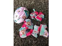 Frozen helmet and pads - brand new