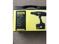 McKeller 14.4v cordless drill with accessories - unopened