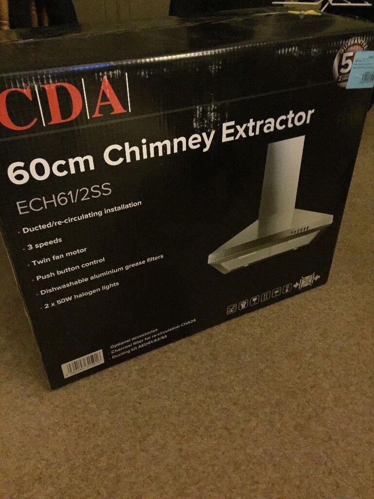 CDA Brand new cooker hood chimney extractor