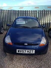 Ford ka zetec climate only 55000 miles 12 months mot 6 months warranty