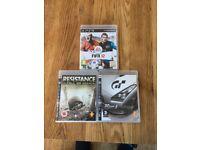 3 Playstation 3 games