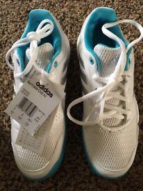 BNIB Adidas Barricade Club xJ, shoe size UK 3 £20