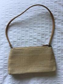 Small textured handbag