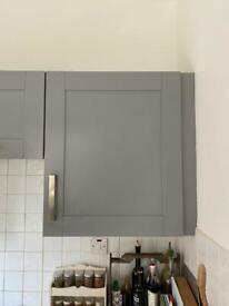 Grey single wall cupboard