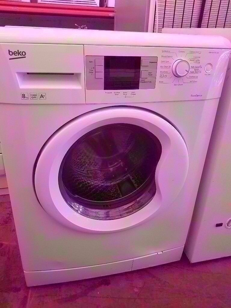 BEKO 8 KG , WASHING MACHINE, FOR SALE in fully working condition