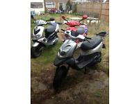 Peugeot moped job lot x3 bikes