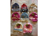 girls and boys wool hats low price