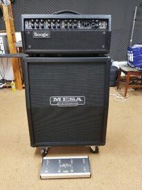 (A/V Separately*) Mesa Boogie MkV, Mk5, Mark 5, 90/45/10w, 3Ch, Valve Amplifier &2x12 Vertical Cab