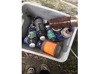 Joblot paint/car stuff/carpet cleaning stuff