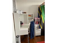 IKEA Workstation (Desk, Chair & Drawer Combo)