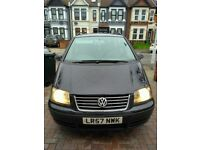 VW Sharen 2008 (57) 1.9 T.D.I Diesel In Excellent Condition Available For Sale 7 Seater MPV