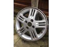"Alloy wheel 14"" Hyundai £10"