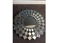 Flower Wall Mirror - Large