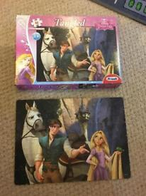 Tangled 60 piece puzzle