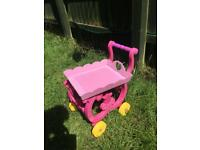 Kids tea trolley