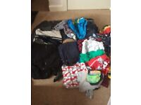 Huge bundle of boys clothes age 10/11 year