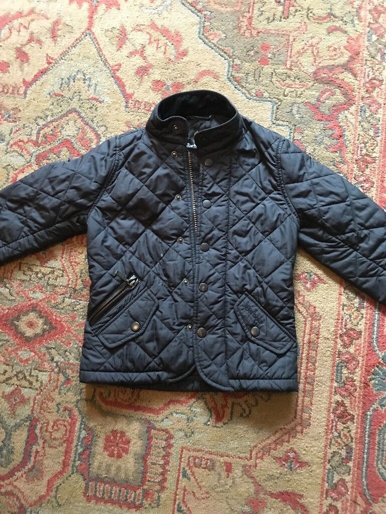 Barbour quilted jacket xxs