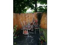 Garden set chairs & tables