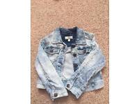 Girls denim jacket age 2-3