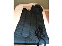 LLBean Camp Sleeping Bag, Flannel-Lined 40°F Hunter Green. A classic! Used. RRP£70+ from USA