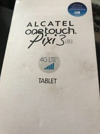 Alcatel one touch pixi 3, 8 inch