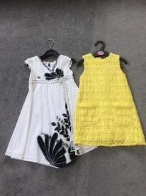 Summer Dresses age 3-4 years from next/ monsoon