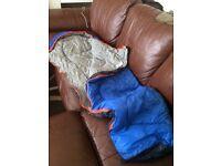 Child sized sleeping bag