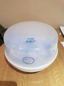 Avent microwave bottle steriliser