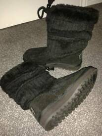 Kickers Boots Size 3 (poss worn once )