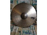 """21"""" Sabian HHX Raw Bell Dry Ride Cymbal"""