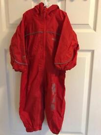 Regatta Waterproof Puddle Suit 12-18 mths.