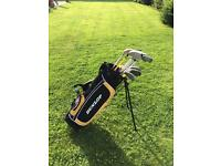 Kids Golf Club Set and Bag