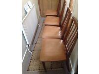 4 G Plan vintage chairs